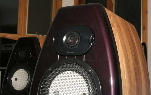 The unwrapped Kharma Mini Exquisites loudspeakers