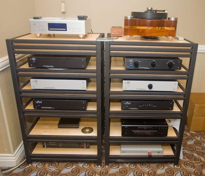 small audio component cabinet