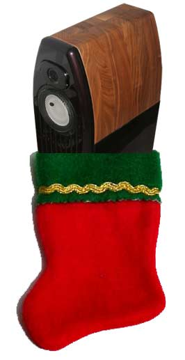 Kharma Mini Exquisite in a Chistmas stocking