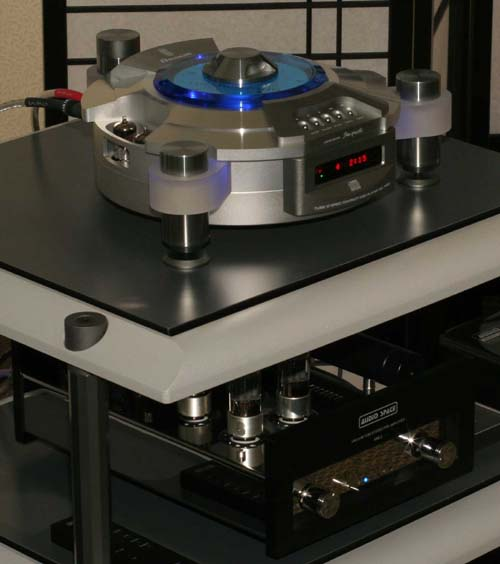 Leitor de CD audiófilo Shanling T-200c IMG_3640