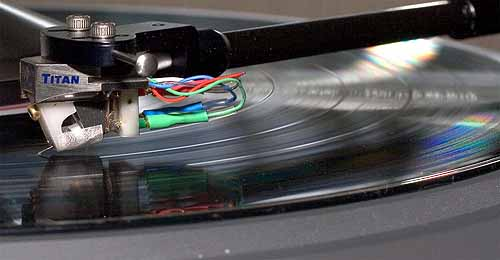 The new Metronome turntable with Lyra Titan cartridge