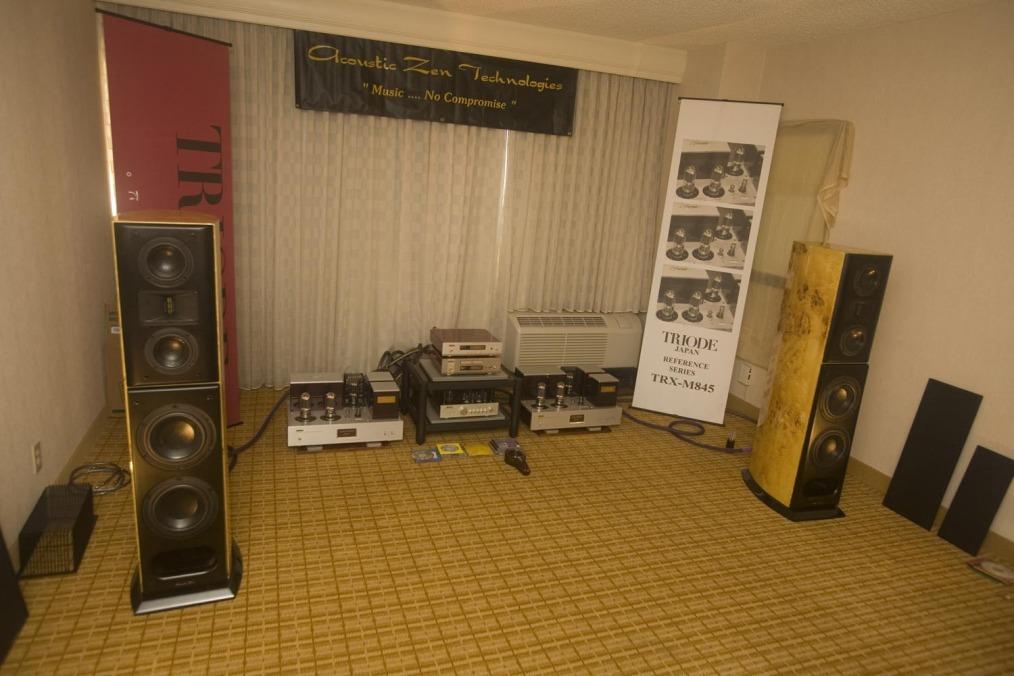 RMAF 2014 - Acoustic Zen, Triode Corporation