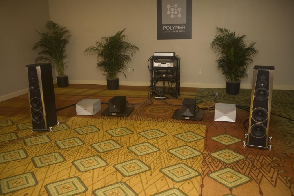 RMAF 2014 - Thrax and Polymer speakers