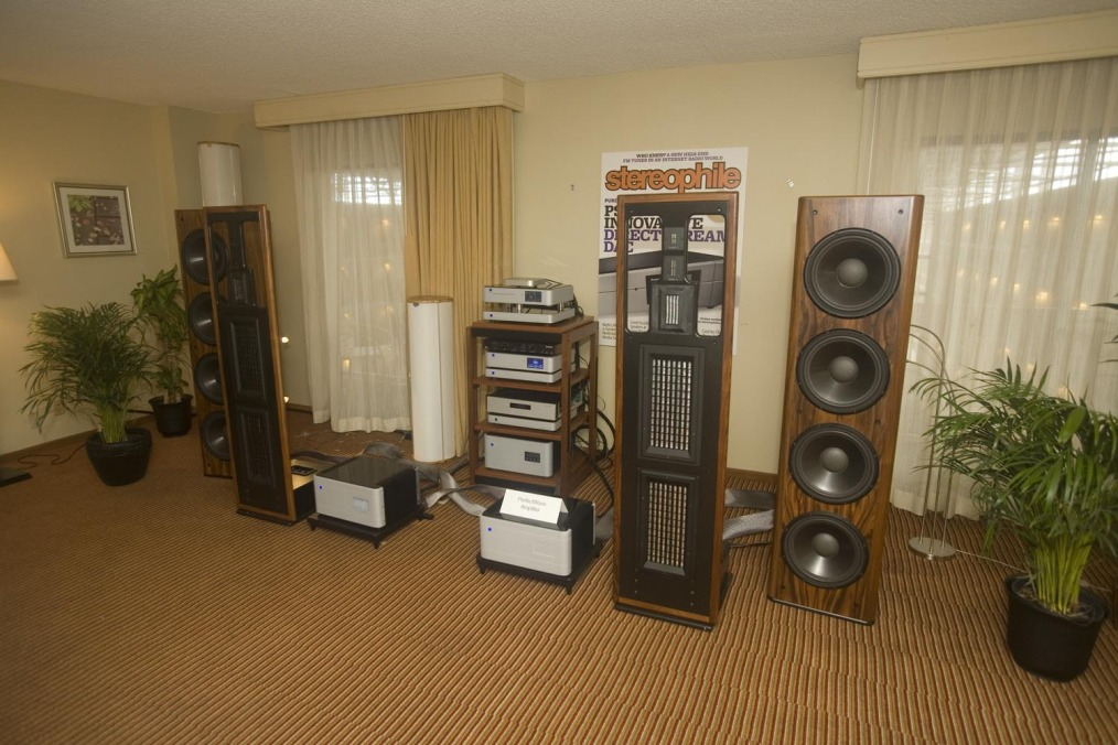 RMAF 2014 - PS Audio and Infinity IRS Beta speakers