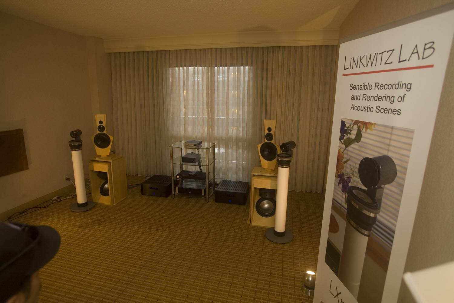 Linkwitz Lab, LX521, LXmini Reference Loudspeakers - RMAF 2014