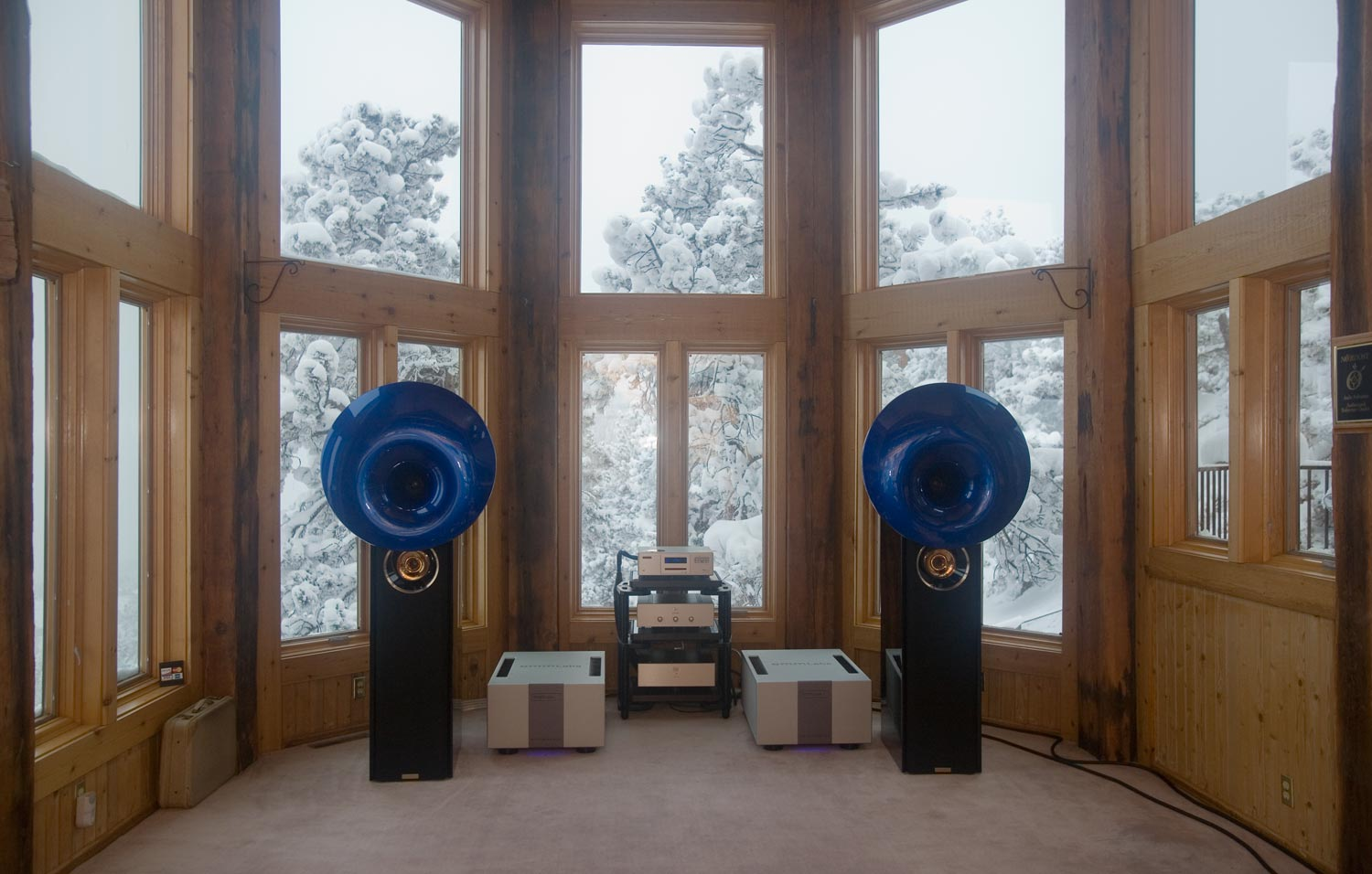 acapella atlas speakers and emm labs mtrx amps