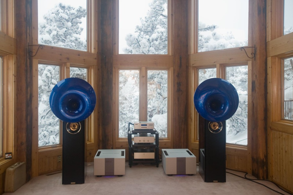 EMM Labs MTRX amplifiers and Acapella Atlas speakers