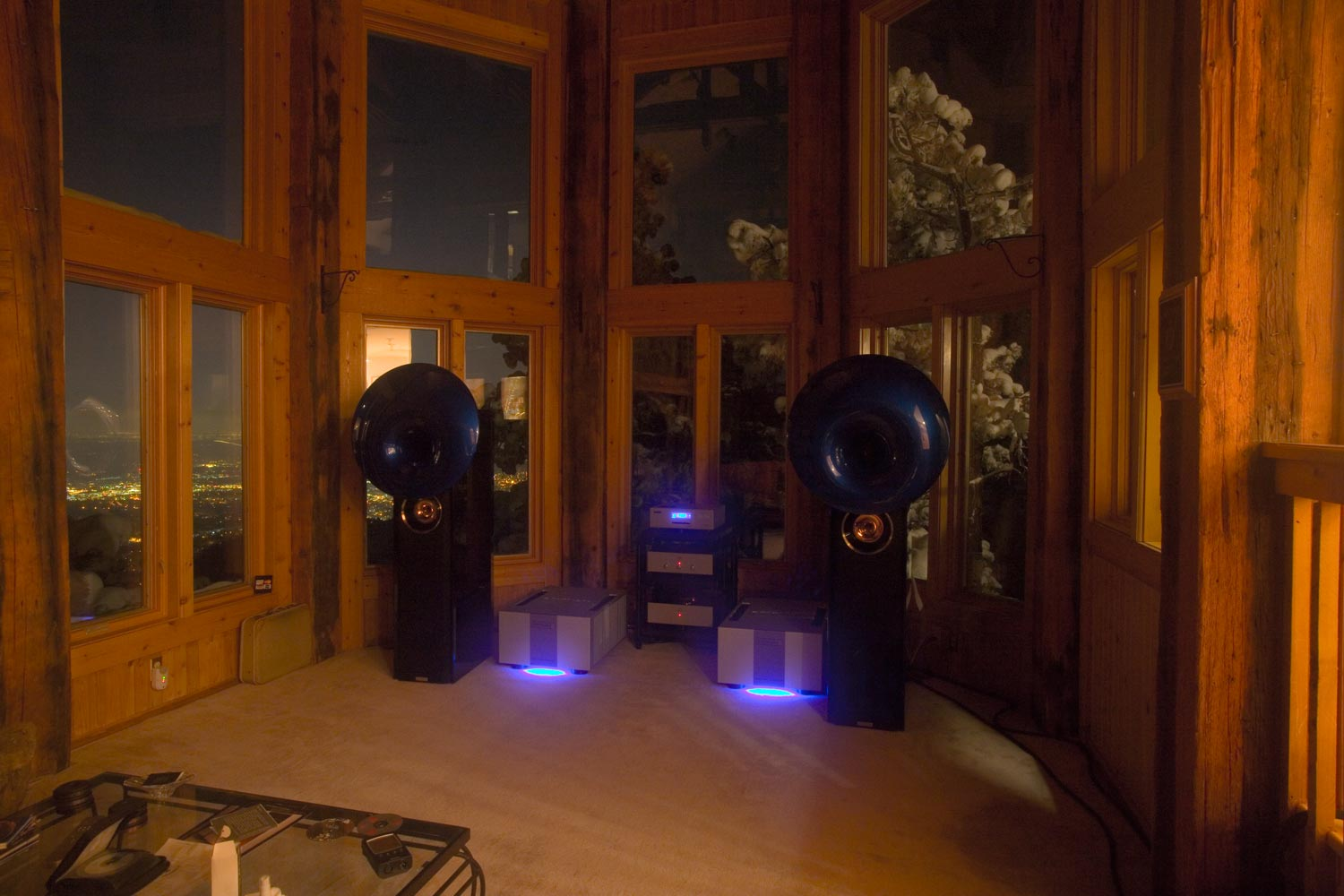 IMG_0716-2-emm-labs-mtrx-amps-and-acapella-atlas-speakers-at-night