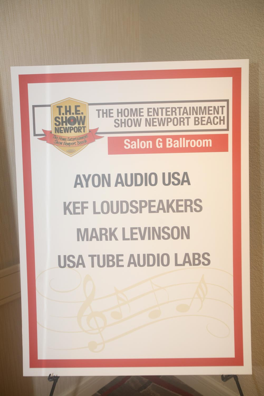 Ayon Audio USA, KEF Loudspeakers, Mark Levinson, USA Tube