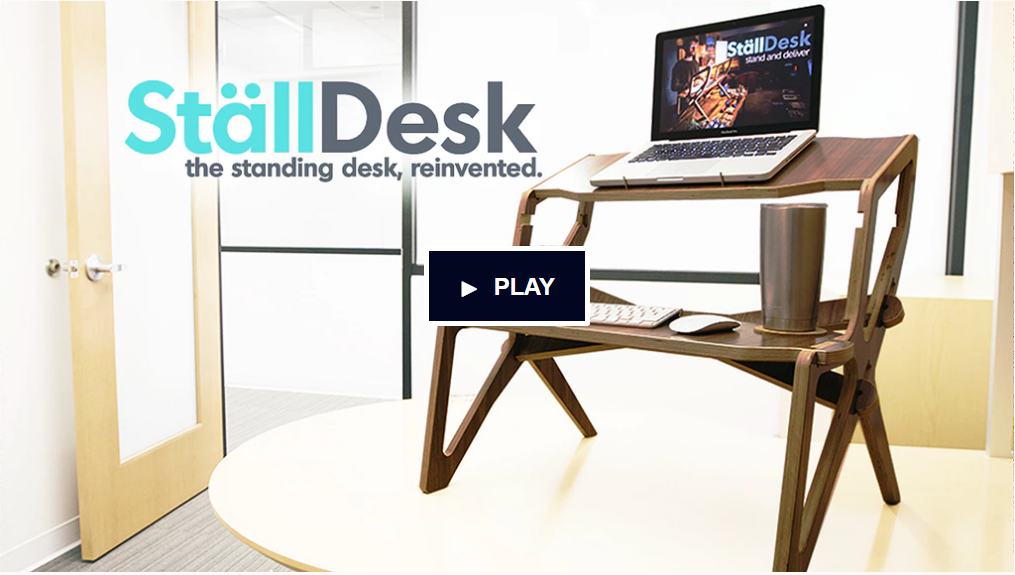 StällDesk – The Standing Desk, Reinvented.