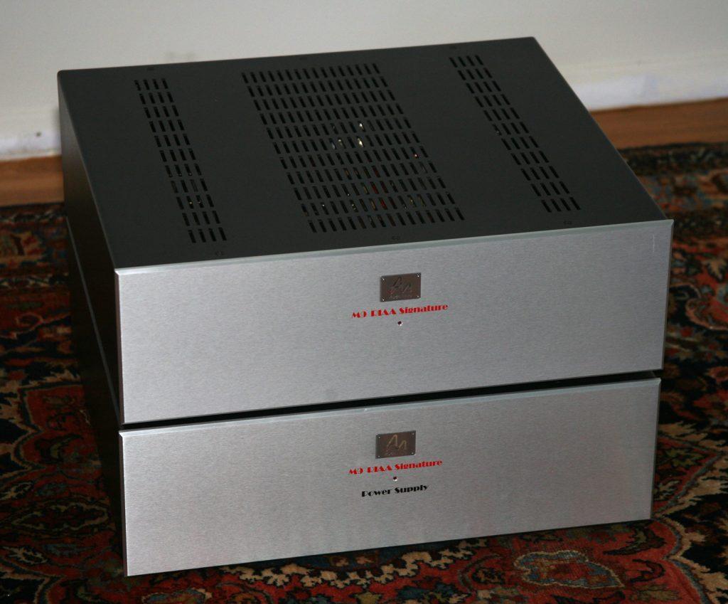 The Audio Note M9 RIAA Signature phonostage