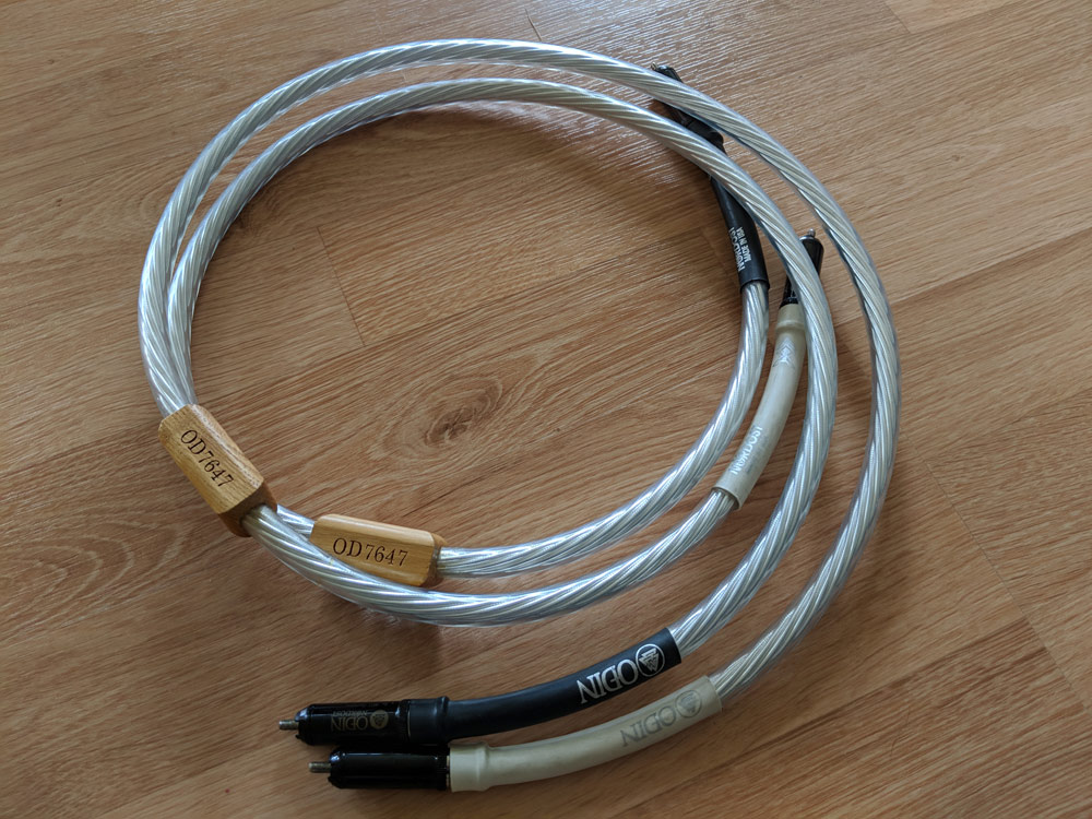 Nordost Odin Interconnects, 1 meter RCA