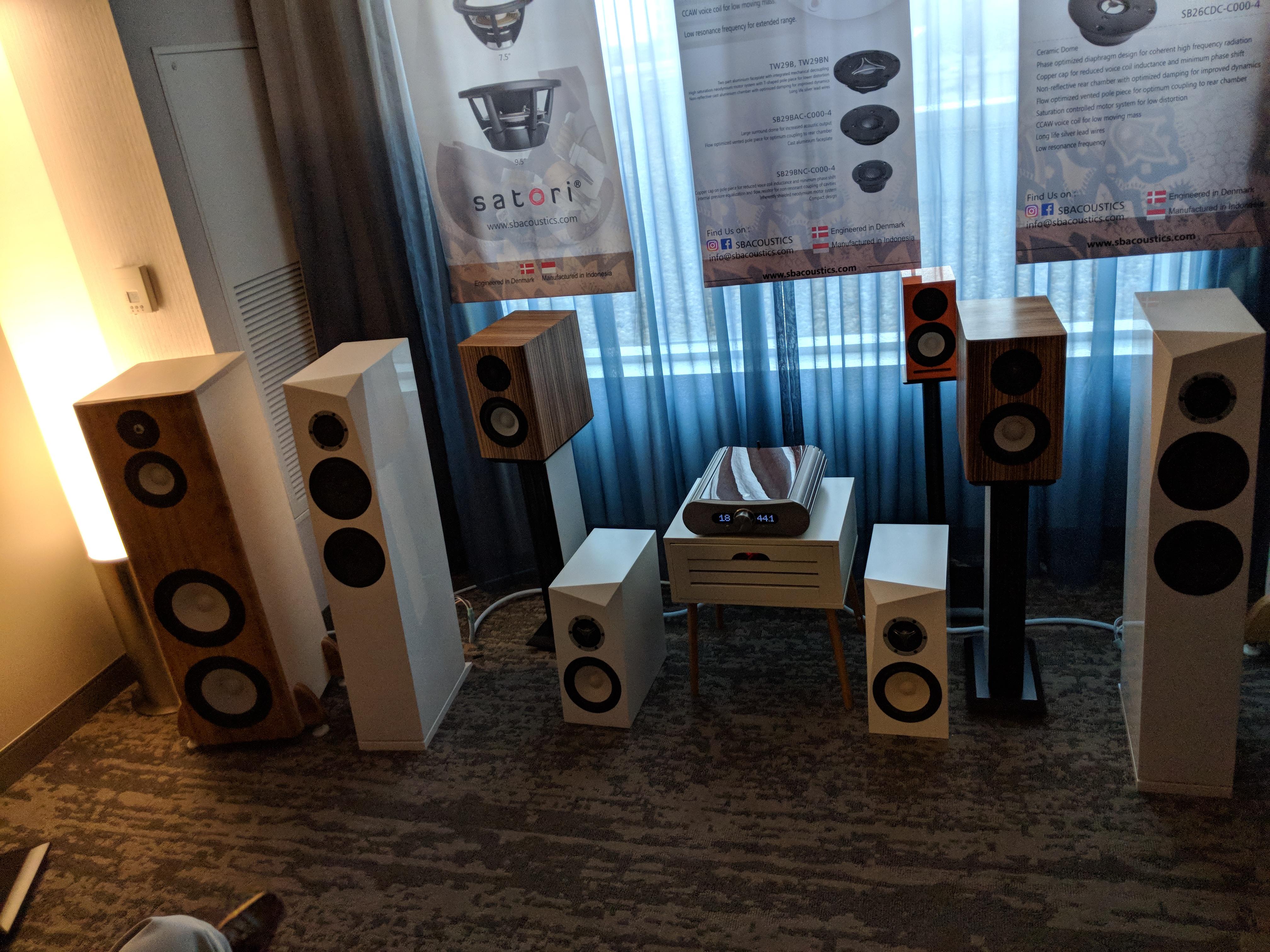 SB Acoustics – Axpona 2018