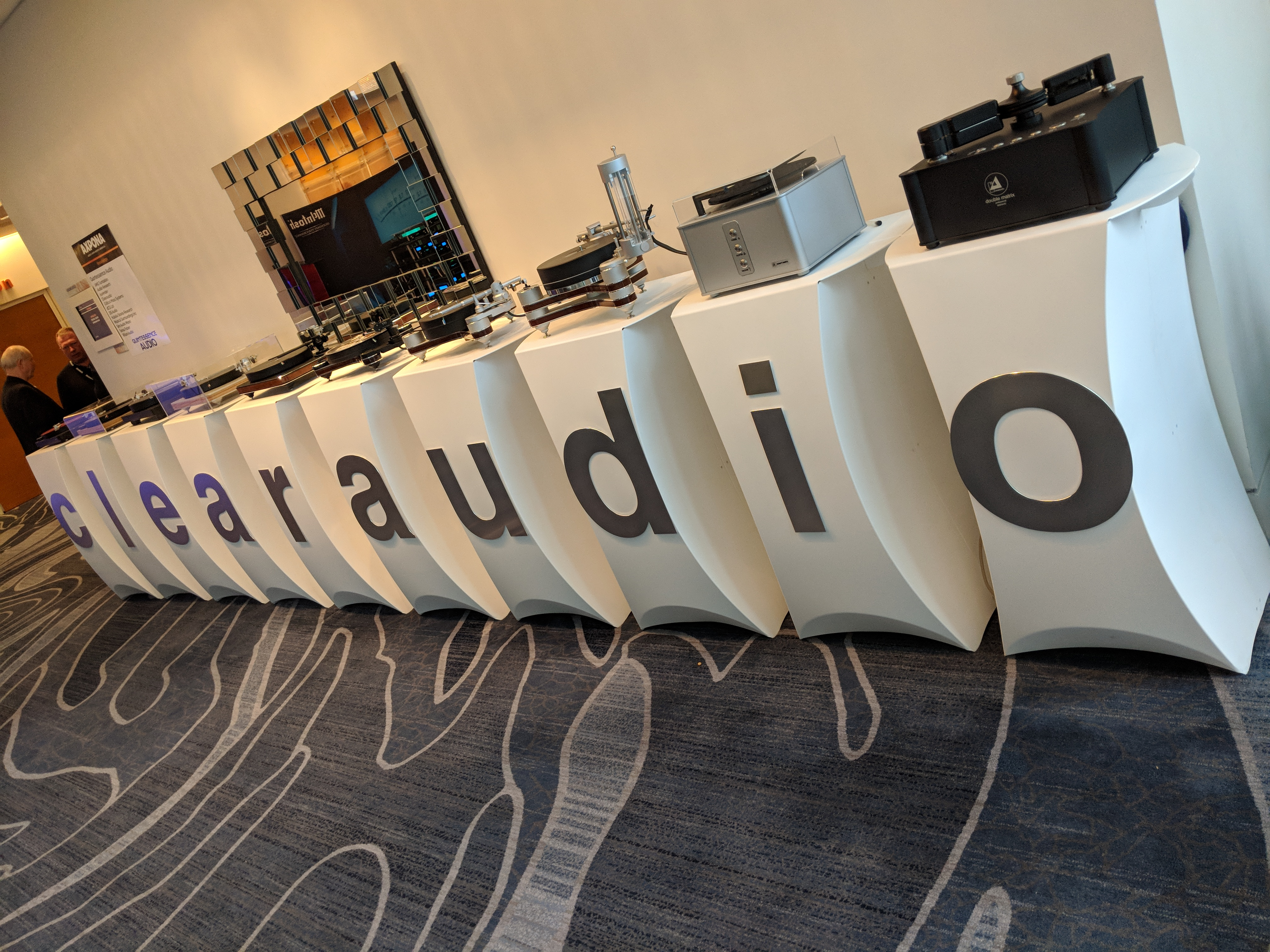 Clearaudio, McIntosh, and Sonus Faber displays floor one – Axpona 2018