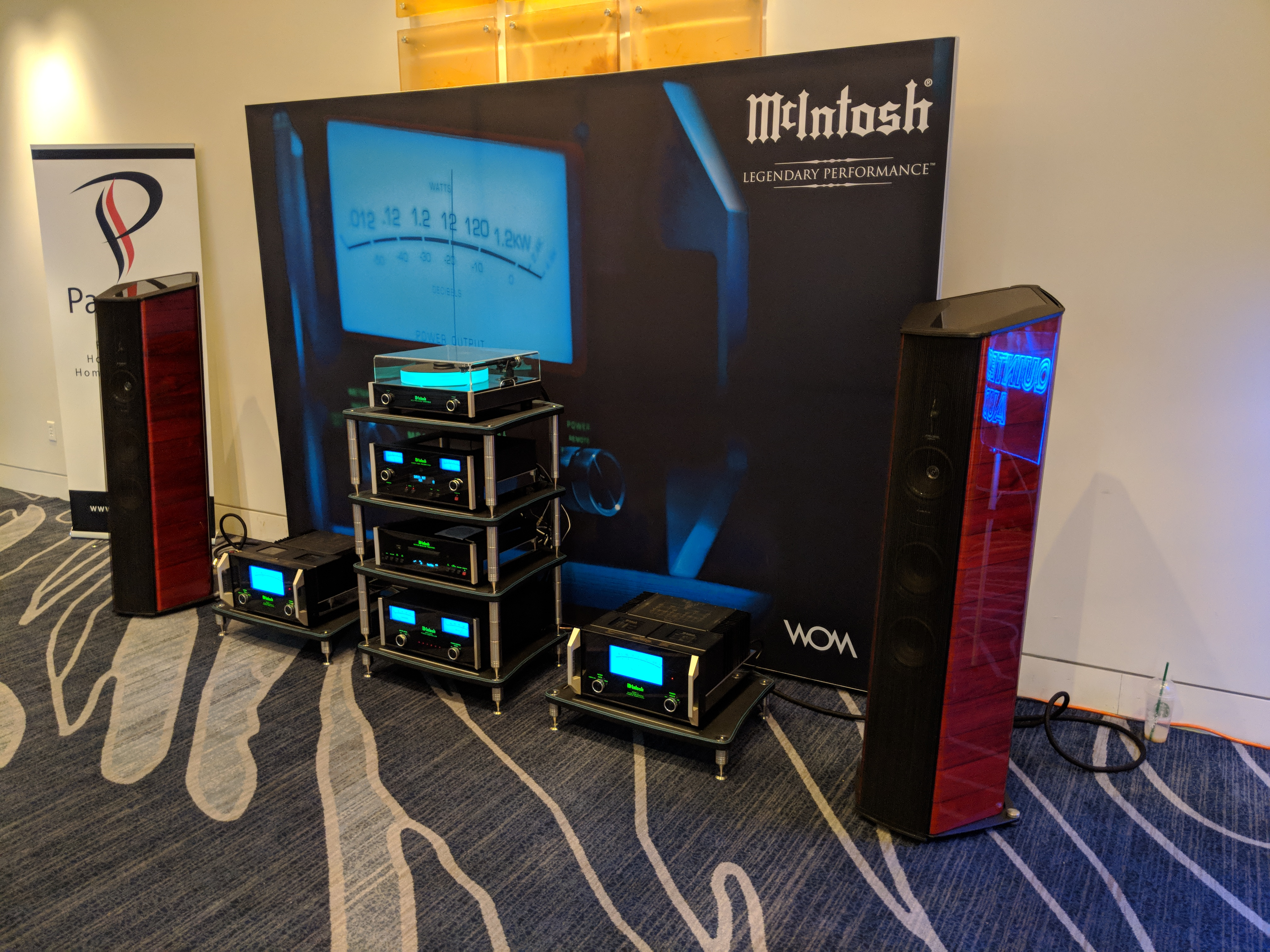 Clearaudio, McIntosh, and Sonus Faber displays floor one