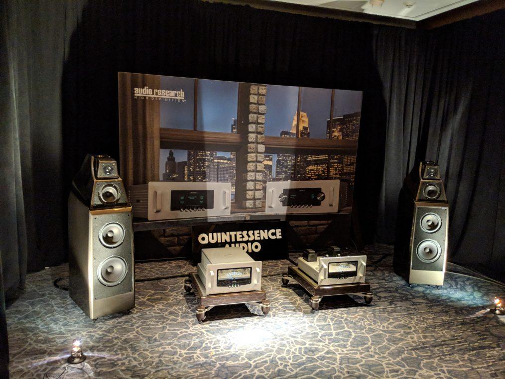 Quintessence Audio III – Axpona 2018