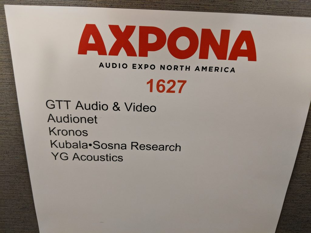 GTT Audio & Video – Axpona 2018
