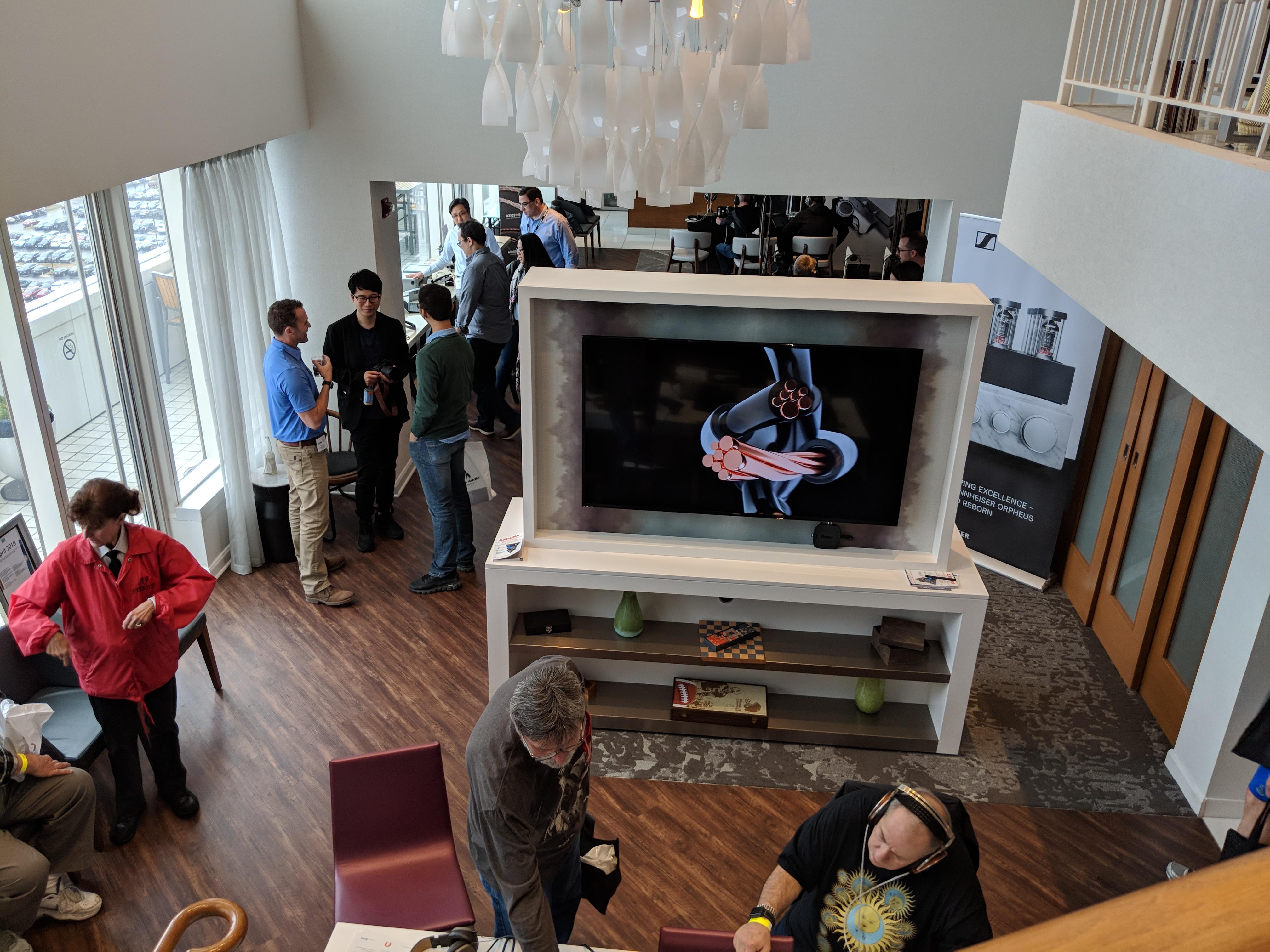 Kimber Kable Club Lounge – Axpona 2018