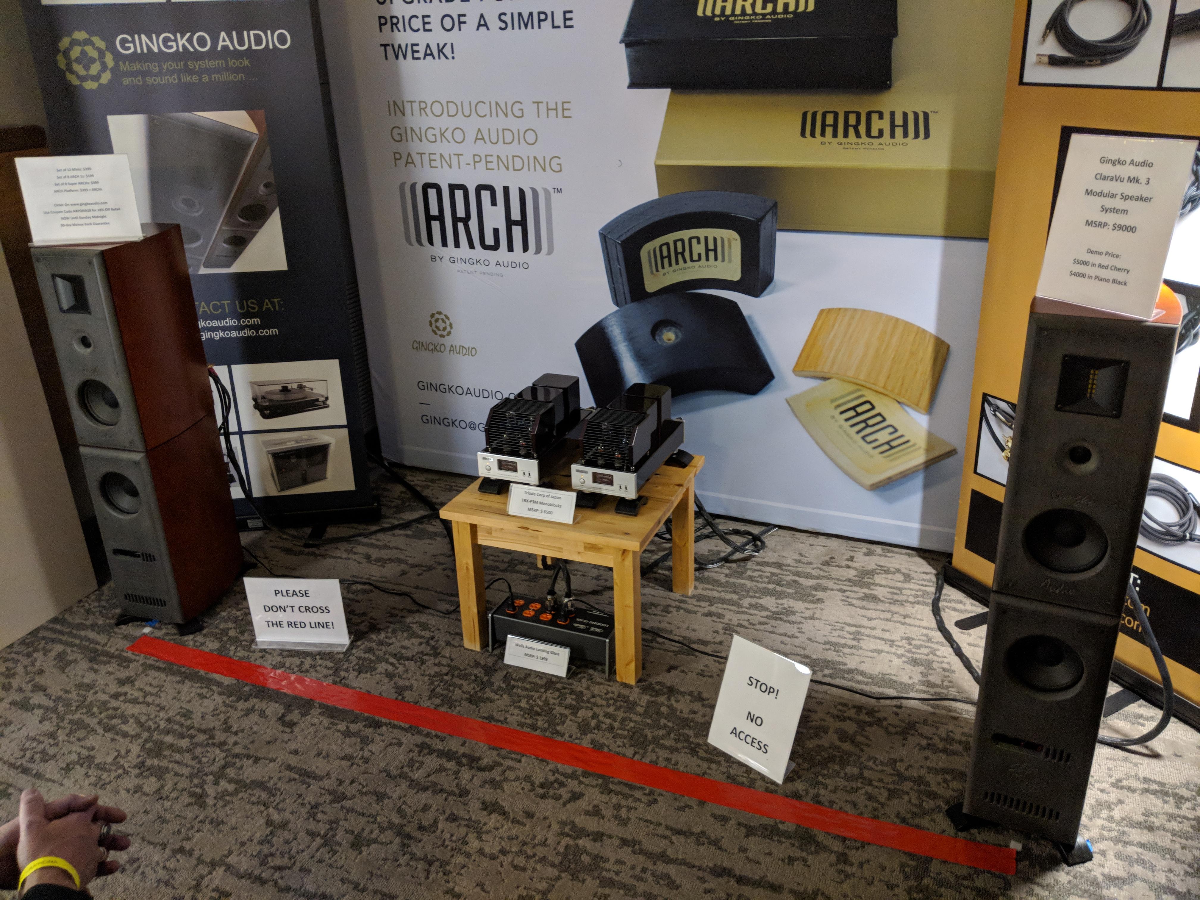 Gingko Audio – Axpona 2018