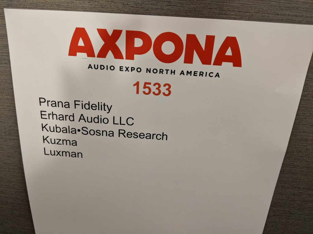 Prana Fidelity – Axpona 2018