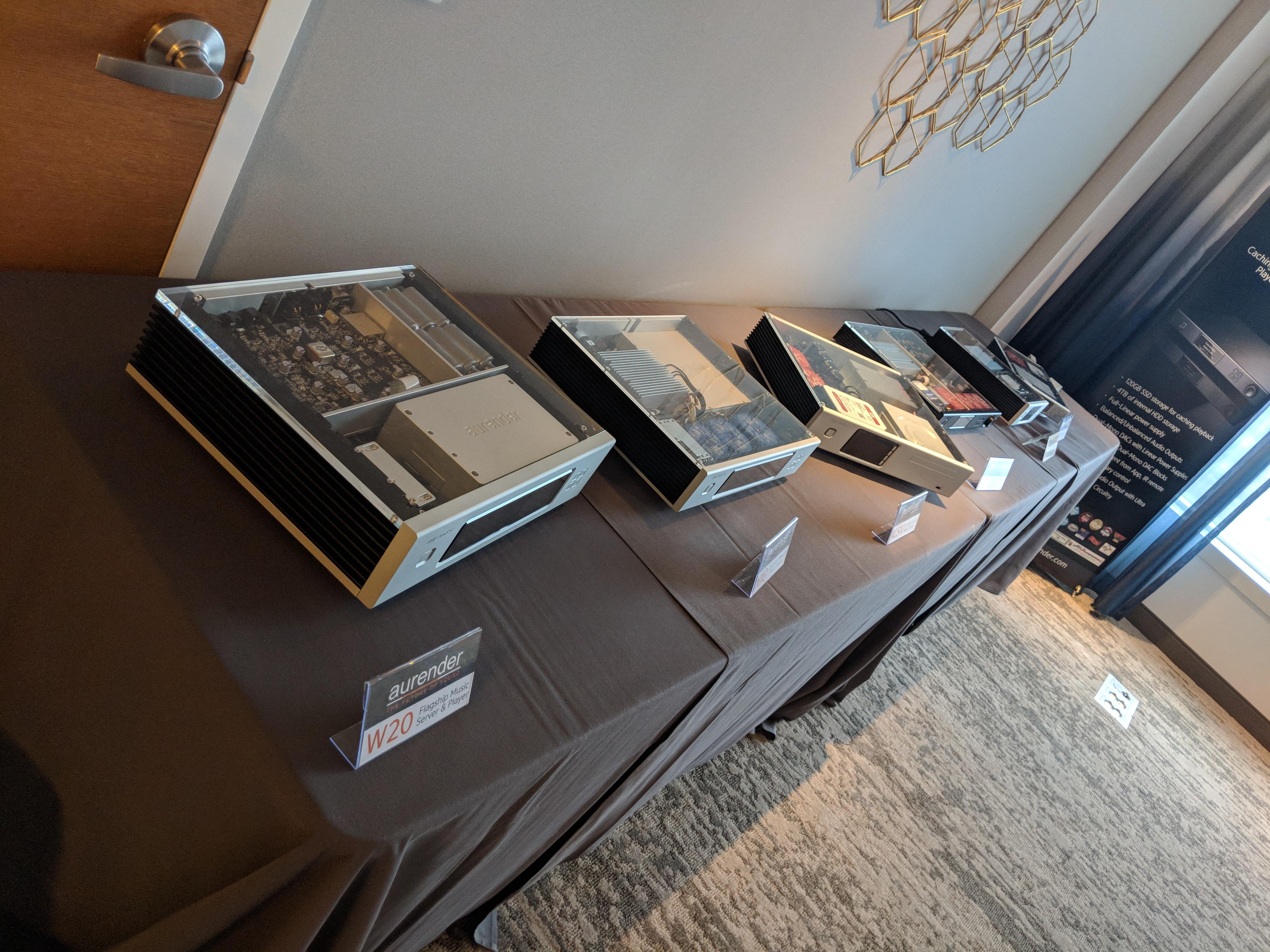 Aurender II – Axpona 2018