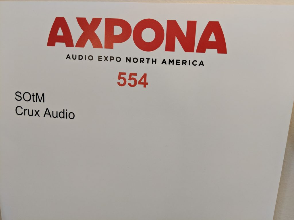 SOtM – Axpona 2018