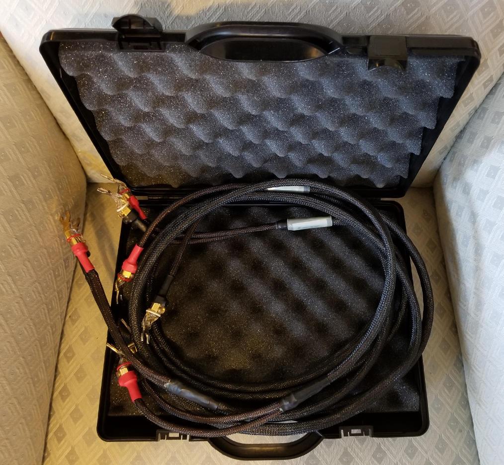 Pair Jorma No. 2 loudspeaker cables