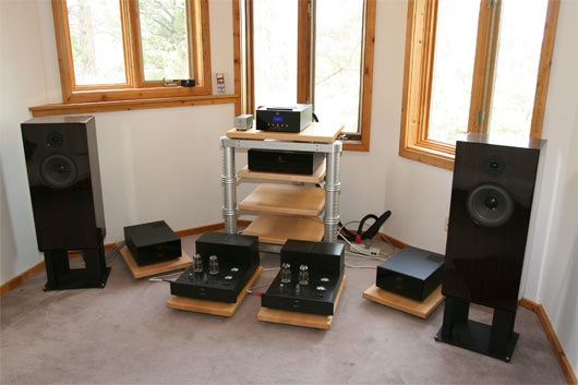 Audio Note Loudspeaker in system in Listening Room 3