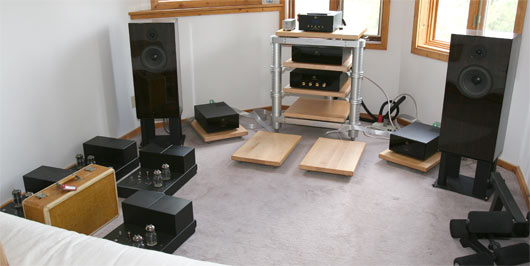 The current state of listening room 3