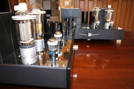Audio Aero Prestige amplifiers