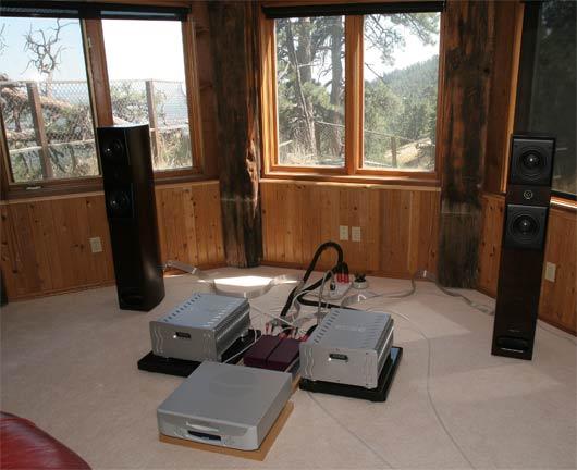 Adagio speakers on Kharma amps