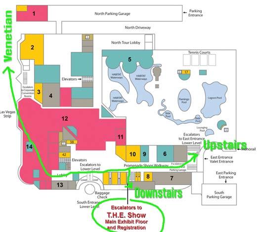 Flamingo las vegas casino map