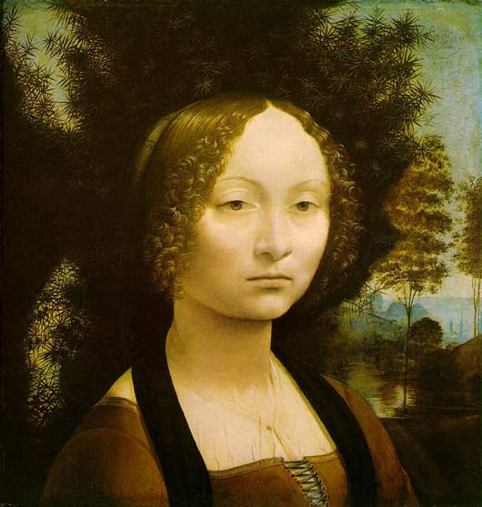 Ginevra de' Benci  - National Gallery of Art, Washington, DC